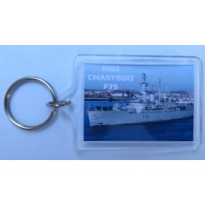 HMS CHARYBDIS F75 82-91 KEYRING/FRIDGE MAGNET/BOTTLE OPENER
