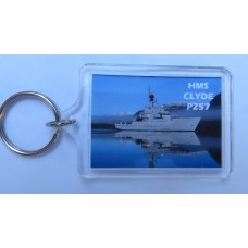 HMS CLYDE P257 KEYRING/FRIDGE MAGNET/BOTTLE OPENER