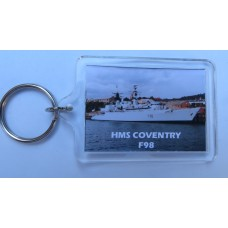 HMS COVENTRY F98 KEYRING/FRIDGE MAGNET/BOTTLE OPENER