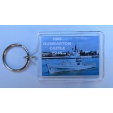 HMS DUNBATON CASTLE  P265 KEYRING/FRIDGE MAGNET/BOTTLE OPENER