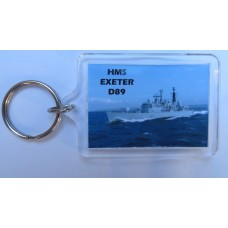 HMS EXETER D89 KEYRING/FRIDGE MAGNET/BOTTLE OPENER