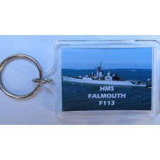 HMS FALMOUTH F113 KEYRING/FRIDGE MAGNET/BOTTLE OPENER