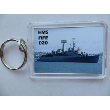 HMS FIFE D20 66-75 KEYRING/FRIDGE MAGNET/BOTTLE OPENER