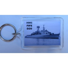 HMS FIFE D20 76-87 KEYRING/FRIDGE MAGNET/BOTTLE OPENER