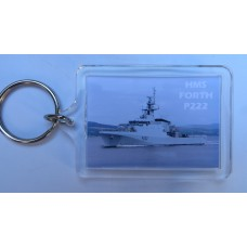HMS FORTH P222 KEYRING/FRIDGE MAGNET/BOTTLE OPENER