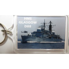 HMS GLASGOW D88 KEYRING/FRIDGE MAGNET/BOTTLE OPENER