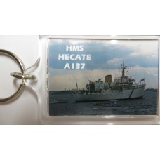 HMS HECATE A137 KEYRING/FRIDGE MAGNET/BOTTLE OPENER