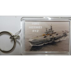 HMS HERMES R12 KEYRING/FRIDGE MAGNET/BOTTLE OPENER