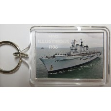 HMS ILLUSTRIOUS R06 KEYRING/FRIDGE MAGNET/BOTTLE OPENER
