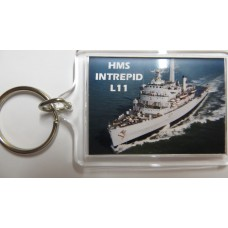 HMS INTREPID L11 KEYRING/FRIDGE MAGNET/BOTTLE OPENER