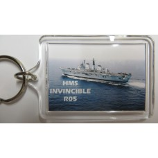 HMS INVINCIBLE R05 KEYRING/FRIDGE MAGNET/BOTTLE OPENER