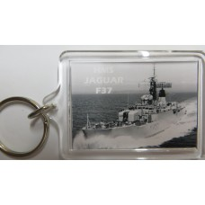 HMS JAGUAR F37 KEYRING/FRIDGE MAGNET/BOTTLE OPENER