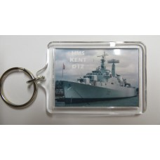 HMS KENT D12 KEYRING/FRIDGE MAGNET/BOTTLE OPENER