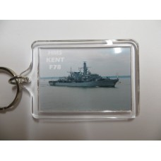 HMS KENT F78 KEYRING/FRIDGE MAGNET/BOTTLE OPENER