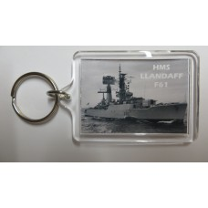 HMS LLANDAFF F61 KEYRING/FRIDGE MAGNET/BOTTLE OPENER