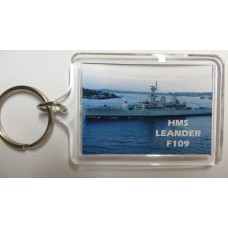 HMS LEANDER F109 KEYRING/FRIDGE MAGNET/BOTTLE OPENER