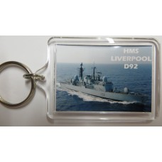 HMS LIVERPOOL D92 KEYRING/FRIDGE MAGNET/BOTTLE OPENER