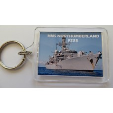 HMS NORTHUMBERLAND F238 KEYRING/FRIDGE MAGNET/BOTTLE OPENER