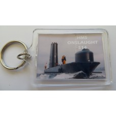 HMS ONSLAUGHT S14 KEYRING/FRIDGE MAGNET/BOTTLE OPENER
