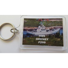 HMS ORKENY P299 KEYRING/FRIDGE MAGNET/BOTTLE OPENER