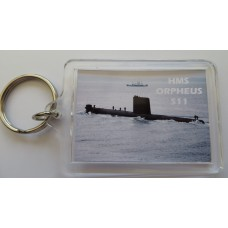 HMS ORPHEUS KEYRING/FRIDGE MAGNET/BOTTLE OPENER