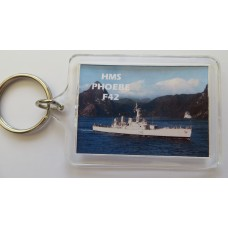 HMS PHOEBE  F42 66 77 KEYRING/FRIDGE MAGNET/BOTTLE OPENER