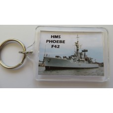 HMS PHOEBE F42 80-91 KEYRING/FRIDGE MAGNET/BOTTLE OPENER