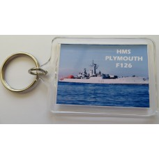 HMS PLYMOUTH F126 KEYRING/FRIDGE MAGNET/BOTTLE OPENER