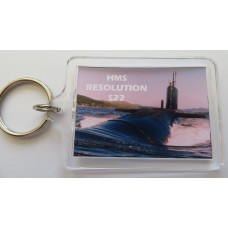 HMS RESOLUTION S22 KEYRING/FRIDGE MAGNET/BOTTLE OPENER
