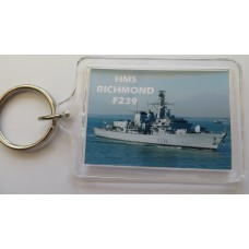 HMS RICHMOND F239 KEYRING/FRIDGE MAGNET/BOTTLE OPENER