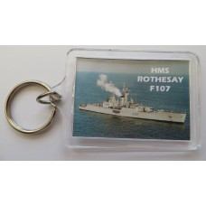 HMS ROTHESAY  107 KEYRING/FRIDGE MAGNET/BOTTLE OPENER