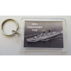 HMS SALISBURY F32 KEYRING/FRIDGE MAGNET/BOTTLE OPENER
