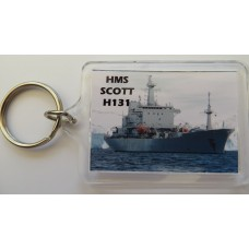 HMS SCOTT H131 KEYRING/FRIDGE MAGNET/BOTTLE OPENER