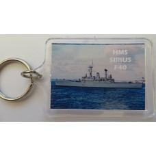 HMS SIRUS F40 66-75 KEYRING/FRIDGE MAGNET/BOTTLE OPENER