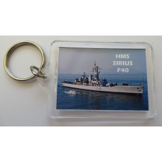 HMS SIRUS F40 77-93 KEYRING/FRIDGE MAGNET/BOTTLE OPENER
