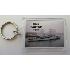 HMS TARTAR F133 KEYRING/FRIDGE MAGNET/BOTTLE OPENER