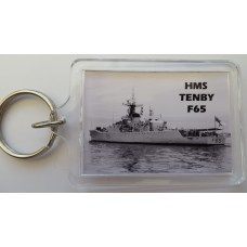 HMS TENBY F65 KEYRING/FRIDGE MAGNET/BOTTLE OPENER