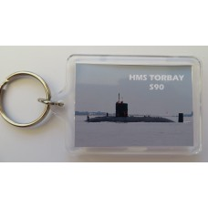 HMS TORBAY S90 KEYRING/FRIDGE MAGNET/BOTTLE OPENER