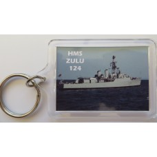 HMS ZULU F124 KEYRING/FRIDGE MAGNET/BOTTLE OPENER