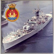 HMS SCARBOROUGH F63 COASTER