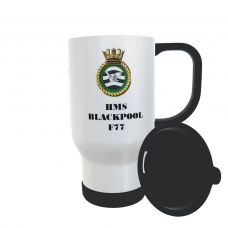 HMS BLACKPOOL F77 TRAVEL MUG