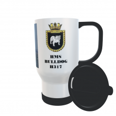 HMS BULLDOG H317 TRAVEL MUG
