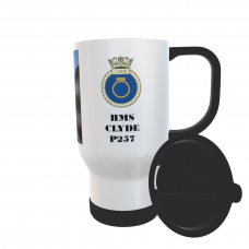 HMS CLYDE P257 TRAVEL MUG