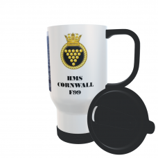 HMS CORNWALL F99 TRAVEL MUG