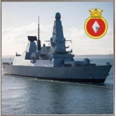 HMS DIAMOND D34 COASTER