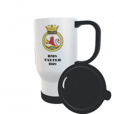 HMS EXETER D89 TRAVEL MUG