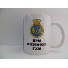 HMS RICHMOND F239 MUG