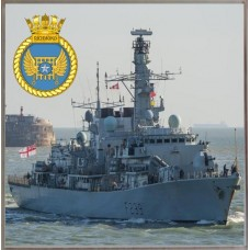 HMS RICHMOND F239 COASTER