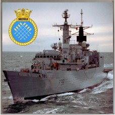 HMS SHEFFIELD F96 COASTER