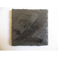 EAGLE SQUARE NATURAL SLATE COASTER FOR ANY OCCASION
